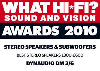 Dynaudio DM2/6 Whdt Hi-Fi 2010 awards