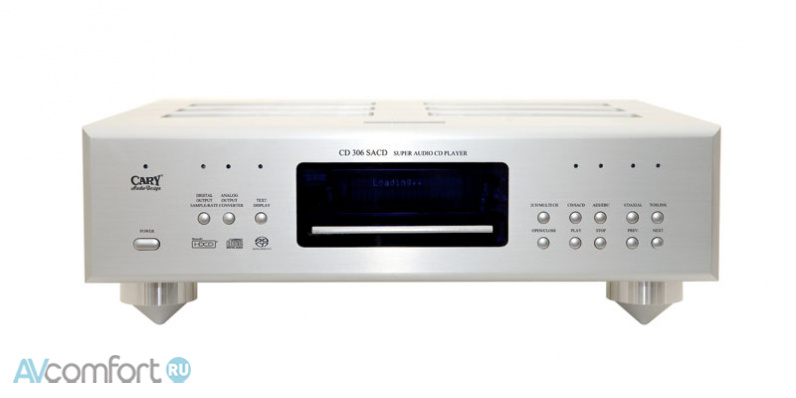 AVComfort, CARY AUDIO CD 306 SACD PRO Silver