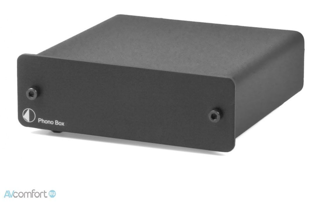 AVComfort, PRO-JECT Phono Box Black