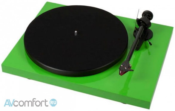 AVComfort, PRO-JECT Debut Carbon Phono USB (OM10) Green