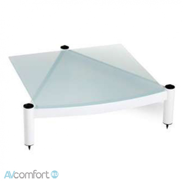 AVComfort, ATACAMA Equinox RS Single Shelf Module HI-FI 145 mm Satin Black/Arctic Frost Glass
