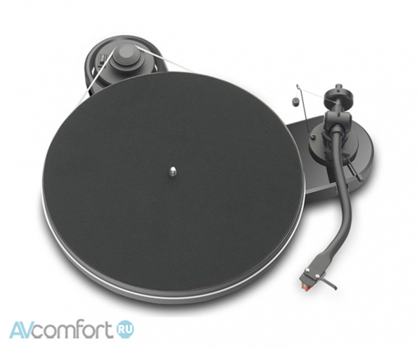 AVComfort, PRO-JECT RPM-1.3 Genie (2M-Red) Black