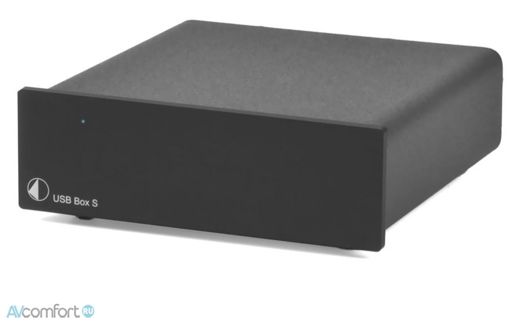 AVComfort, PRO-JECT USB Box S Black