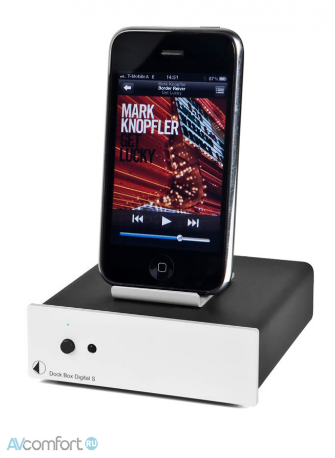 AVComfort, PRO-JECT Dock Box S Digital Silver