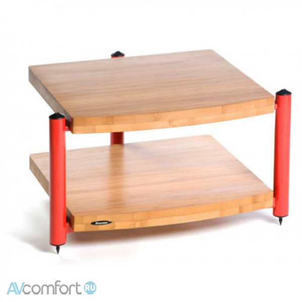 AVComfort, ATACAMA Eris ECO 5.0 Hi-Fi 2 Shelf Base Module Red