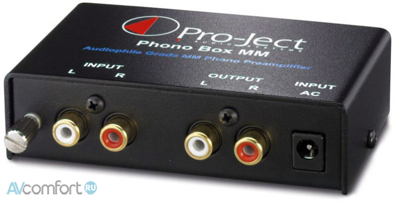 AVComfort, PRO-JECT Phono Box MM