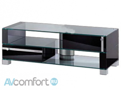 AVComfort, ULTIMATE SX/B desktop silver alu/oak