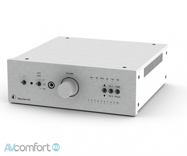 AVComfort, PRO-JECT Pre Box RS Digital Silver