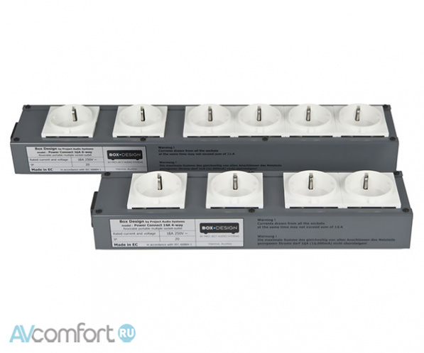 AVComfort, PRO-JECT Connect It Power 4Way 16A