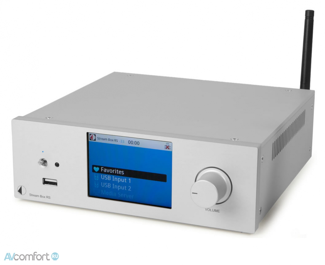 AVComfort, PRO-JECT Stream Box RS Silver