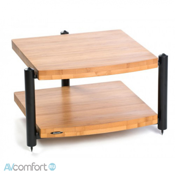 AVComfort, ATACAMA Eris ECO 5.0 Hi-Fi 2 Shelf Base Module Black