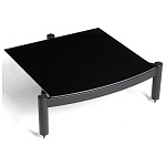 ATACAMA Equinox RS Single Shelf Module HI-FI 145 mm Satin Black/Piano Black Glass