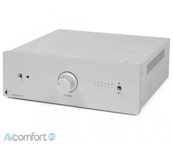 AVComfort, PRO-JECT Stereo Box RS Silver
