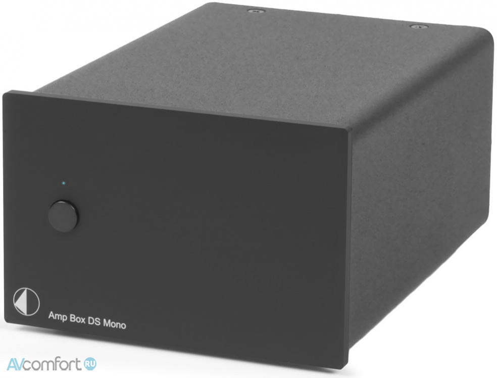 AVComfort, PRO-JECT Amp Box MONO DS Black