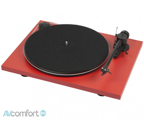 AVComfort, PRO-JECT Essential Phono USB (OM5e) Matt Red