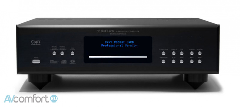 AVComfort, CARY AUDIO CD 303T SACD Black