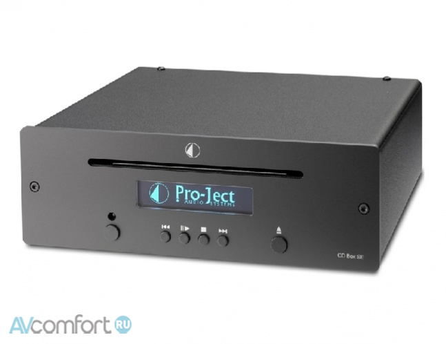 AVComfort, PRO-JECT CD Box SE Black