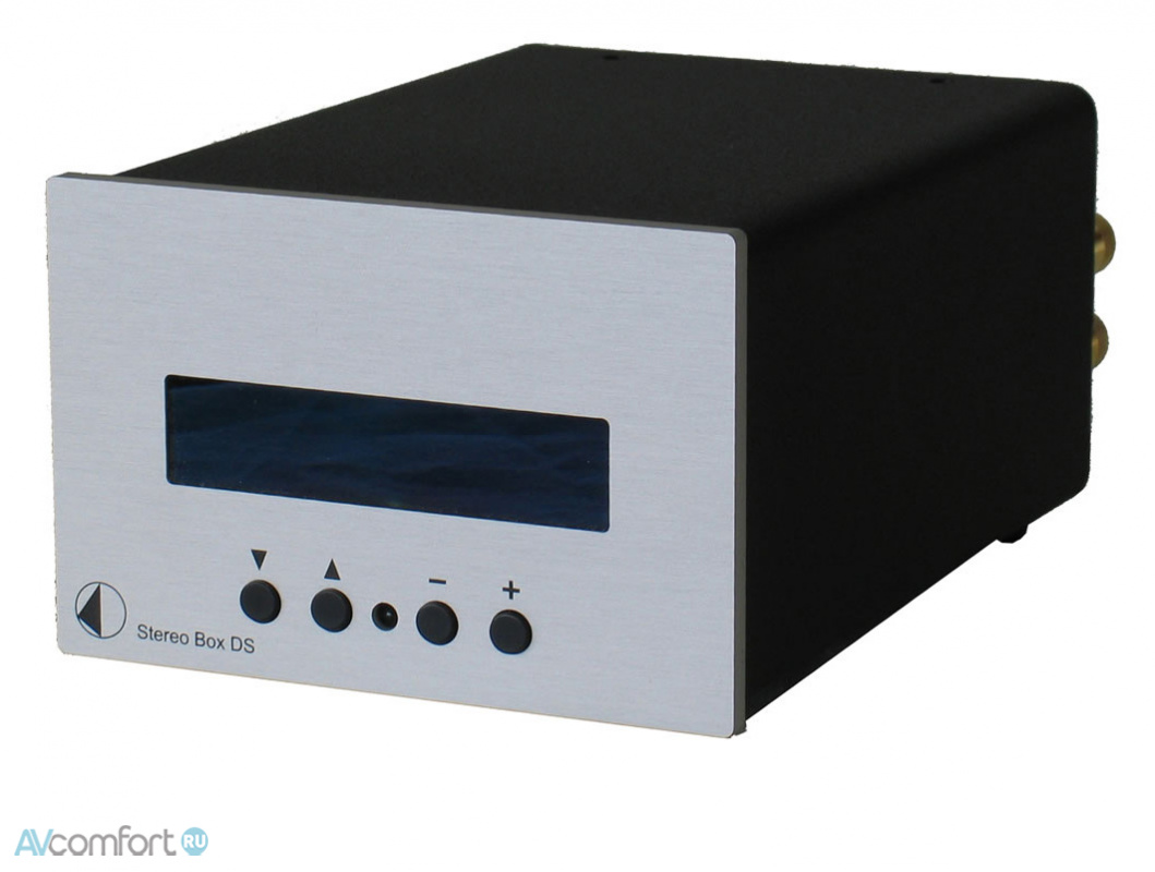 AVComfort, PRO-JECT Stereo Box DS Silver