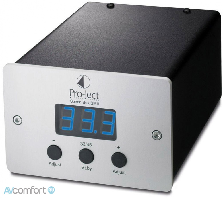 AVComfort, PRO-JECT Speed Box SE II Black