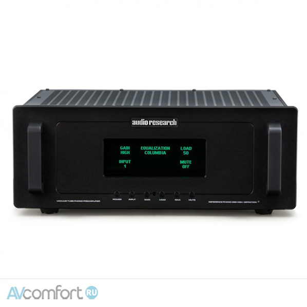 AVComfort, AUDIO RESEARCH Reference PHONO 2 SE Black