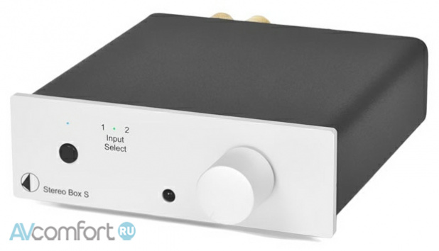 AVComfort, PRO-JECT Stereo Box S Silver