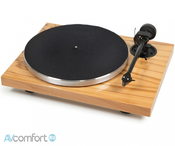 AVComfort, PRO-JECT 1-Xpression Carbon Classic (2M-Silver) Olive