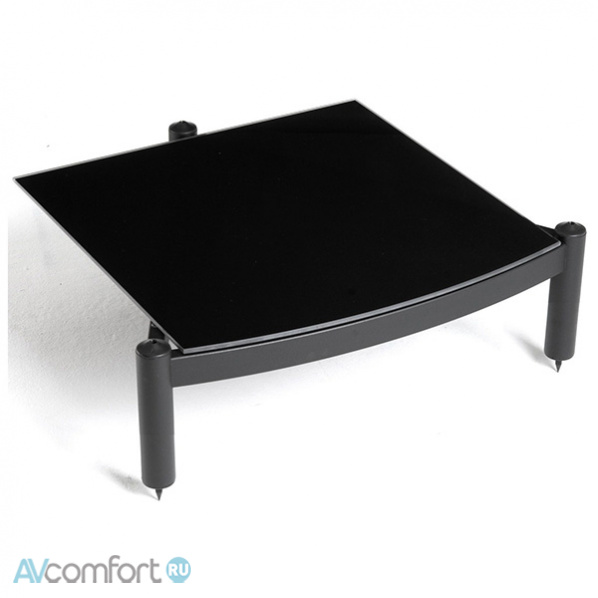 AVComfort, ATACAMA Equinox RS Single Shelf Module HI-FI 195 mm Satin Black/Piano Black Glass