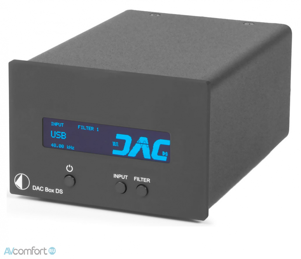 AVComfort, PRO-JECT DAC Box DS Black